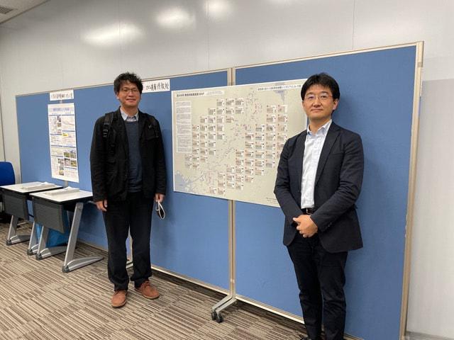 「琵琶湖・淀川・大阪湾流域圏シンポジウム」に出品しました