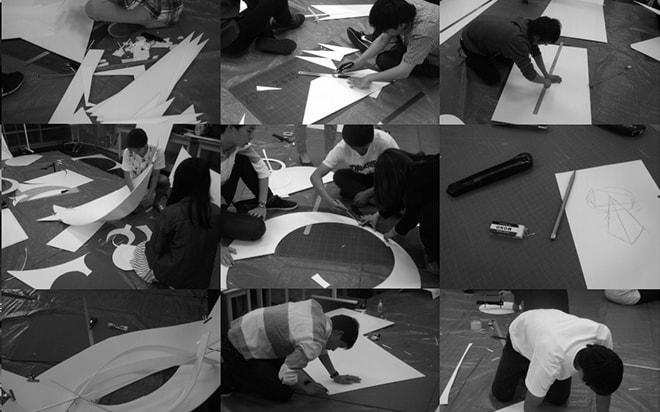 建築学科の造形演習Ⅰ展覧会のご案内
