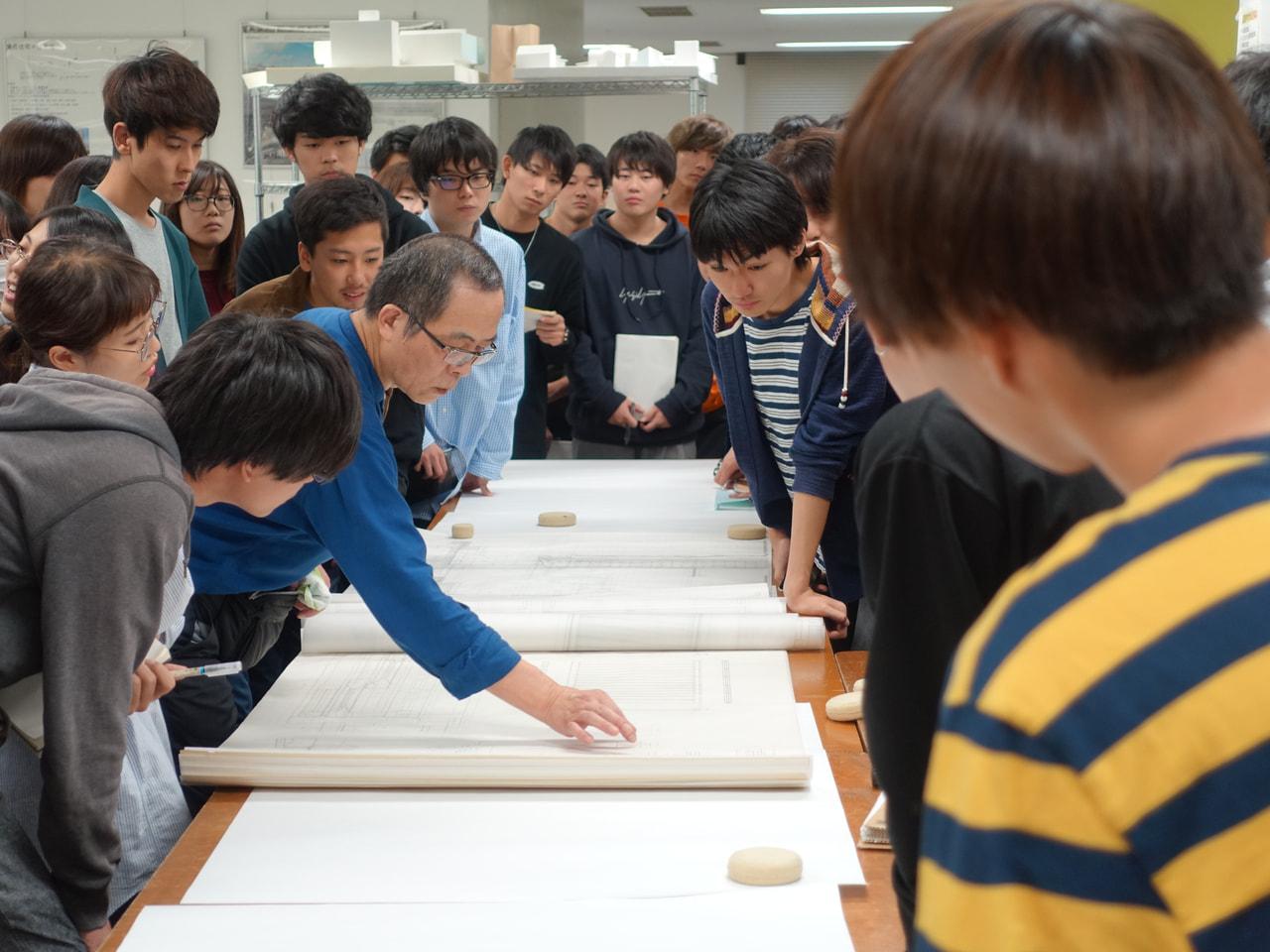 金澤良春先生特別レクチャー「実測とは何か」
