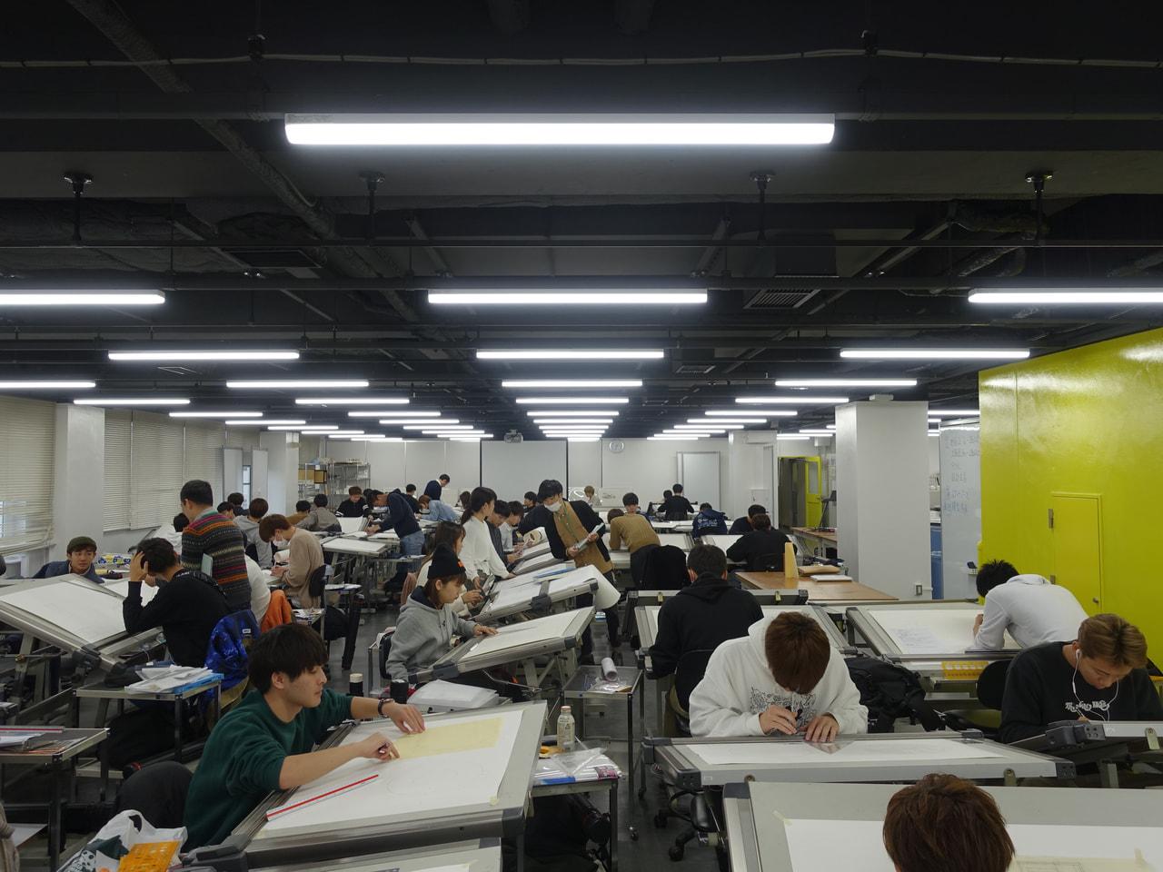 建築学科製図室をリニューアルしました