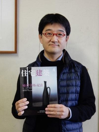 住宅建築4月号に加嶋先生の『書評』が掲載されました